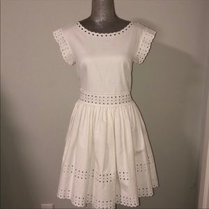 Red Valentino white Eliot dress in size 8